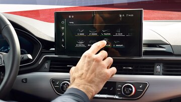 Audi S4 Sedan MMI touch display - Audi Australia